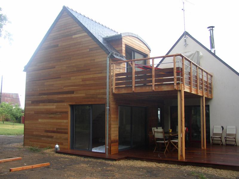 D coration extension maison surelevee 21 saint denis for Agrandissement maison 40m2