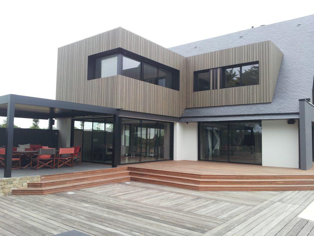 renovation maison annee 60 amazing rnovation duune maison classique en maison atypique with. Black Bedroom Furniture Sets. Home Design Ideas