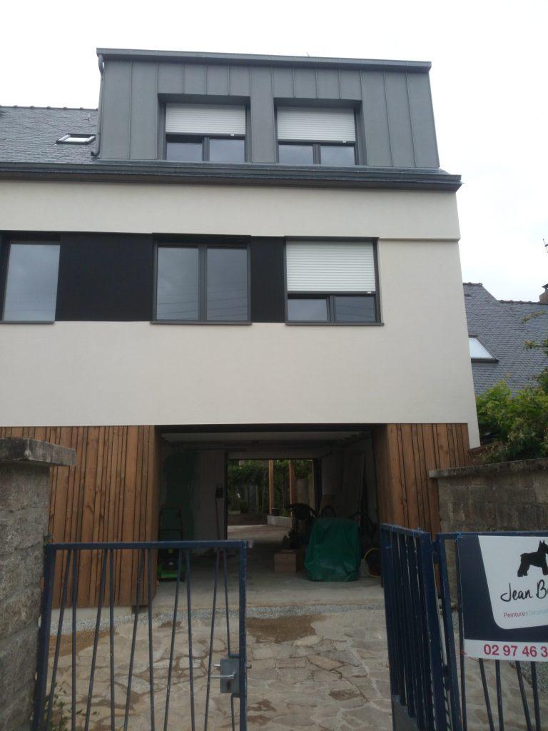 Extension maison vannes cool rnovation duune longre with for Top garage vannes