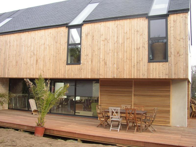ossature bois carnac sign bois construction. Black Bedroom Furniture Sets. Home Design Ideas