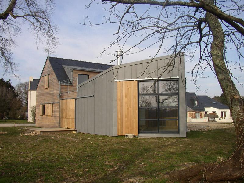 Zinc  Pierre  Bois  SignBois Construction
