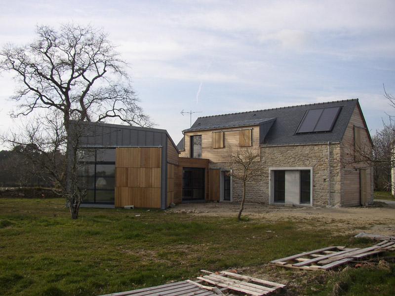 maison pierre et bois finest veture de pierre coeur de bois u yvelines u maison bois et pierre. Black Bedroom Furniture Sets. Home Design Ideas